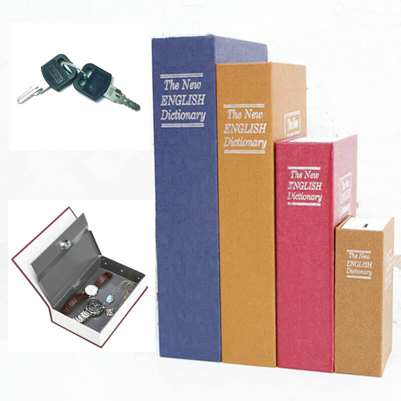 Безопасности словарь моделирование Чехол-книжка дома наличные деньги ювелирные изделия шкафчик Secret безопасного хранения Box с замком ...