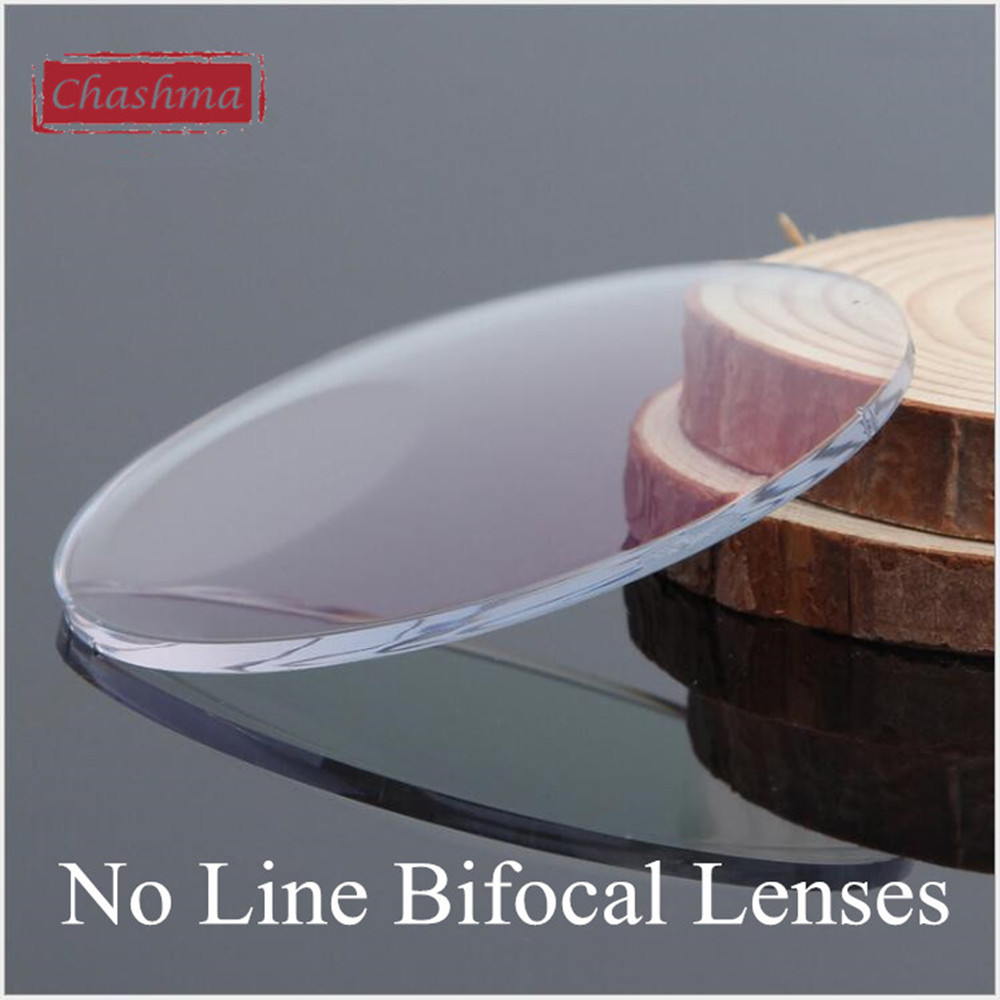 Chashma Anti Reflective 1.56 Index Bifocal Lens Prescription Customize Eyes Aspheric Bifocal Lenses for See Near and Distance