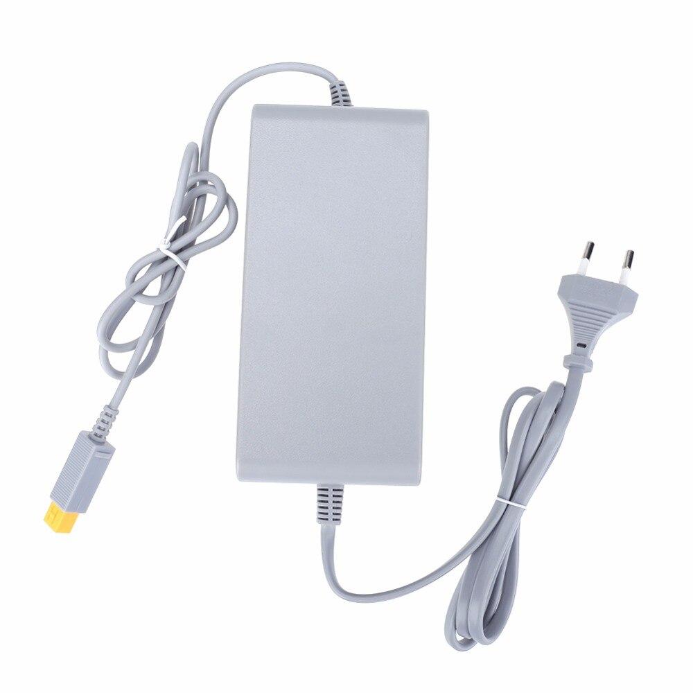 Адаптер питания переменного тока с вилкой европейского стандарта, 15 В, 5 А, контроллер геймпада, зарядная док станция для игровой консоли Nintendo Wii U adapter power adapter power supplyadapter ac   АлиЭкспресс