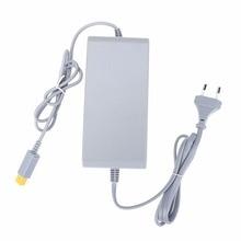 EU Plug AC Power Supply Adapter 15V 5A Gamepad Controll Power Charging Converter Docking Station for Nintendo Wii U Game Console