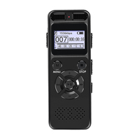 Hidden Digital Voice Audio Recorder Dictaphone Registrar MP3 HIFI Stereo 1536KPS WAV Recording Device Gray Support 64G Expansion