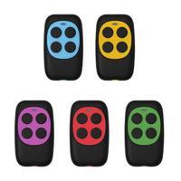 remote key 433mhz Controller Colorful Electric Garage Door Remote Control Key FOB Cloning Cloner 4 Keys Gate Controller (2)