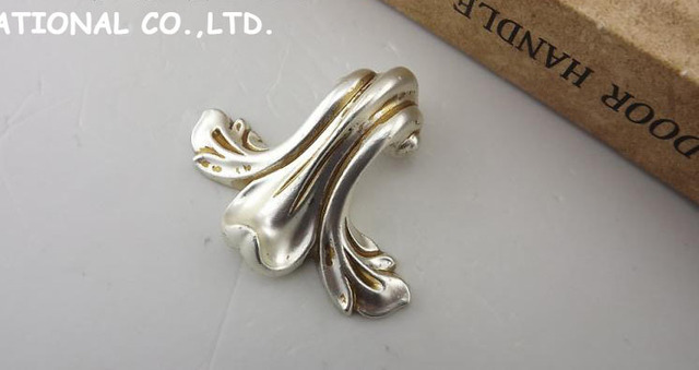 L63mm Free shipping zinc alloy furniutre drawer knobs