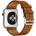 DALAN Series 2 1 Loop For Apple Watch band Leather 42mm 38mm Band For Apple Watch link bracelet With Metal Adapter