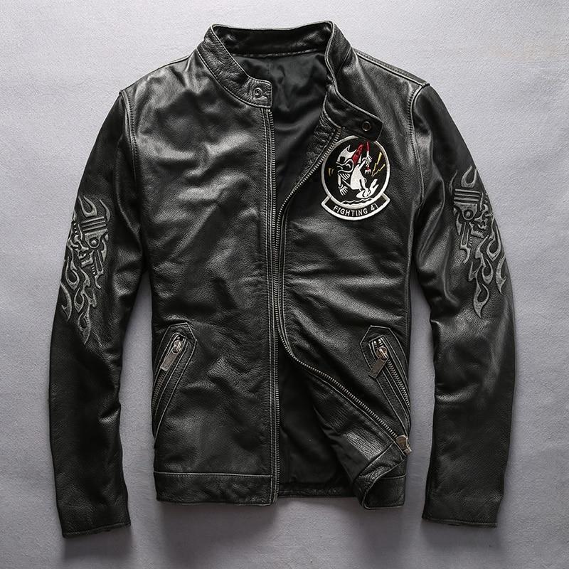 Retro Leather Jacket Promotion-Shop for Promotional Retro Leather ...