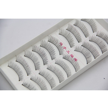 10 Pairs Fake Eye Lashes Natural Long Lashes Extensions False Eyebrows Handmade Eyelashes 2HM8