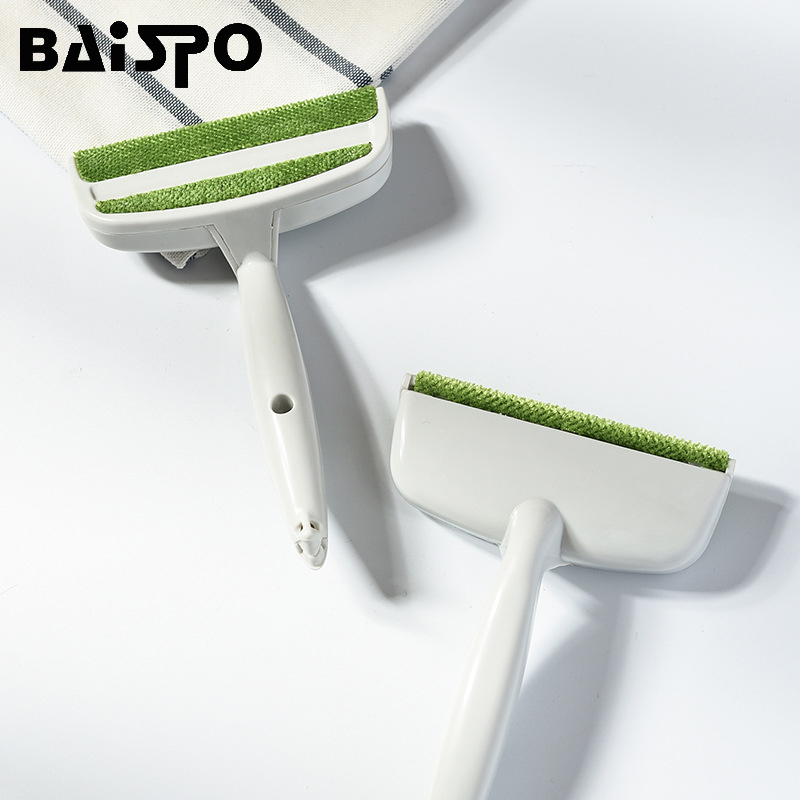 BAISPO Dusting and Suction Hair Cleaning Brush Sofa Bed Seat Gap Car Air Outlet Vent Dust Remover Home Cleaning Supplies Tools