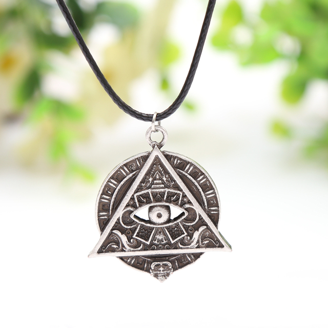10pcs Mayan Pyramid All Seeing Eye Mayan Icon Pagan Wicca Pendant