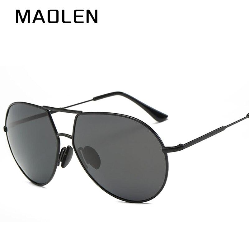 MAOLEN 2018 Brand Polarized Sunglasses Men New Design Fishing Driving Sun Glasses Eyewear Oculos Gafas UV400 De So