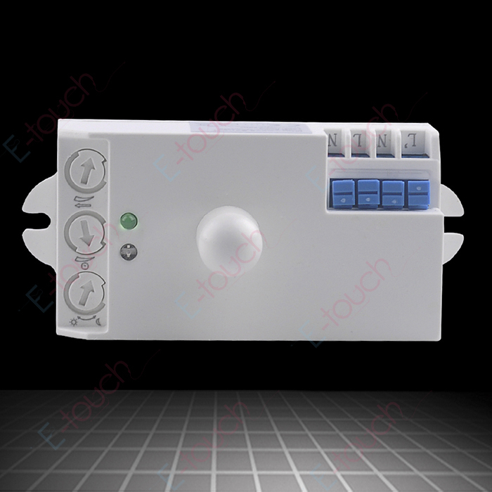 110V 220VAC Microwave Sensor Light Switch Auto Induction Microwave Wall Mount Microwave Motion Detector (ET029A2) все цены