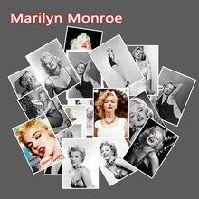 25pcs Marilyn Monroe Waterproof Cartoon Sticker For Luggage Skateboard Phone Laptop Bicycle Wall Guitar Stickers