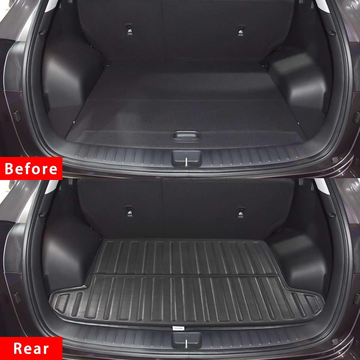 Car Tray Boot Liner Cargo Rear Trunk Cover Matt Mat Boot Liner Floor Carpet Mud For Hyundai Tucson TL 2015 2016 2017 2018 2019