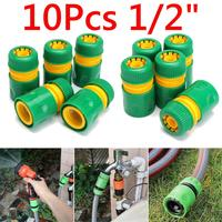 10 Pcs 1/2 inch Slang Tuin Tap Water Tuinslang Connector Quick Connect Adapter Fitting Watering