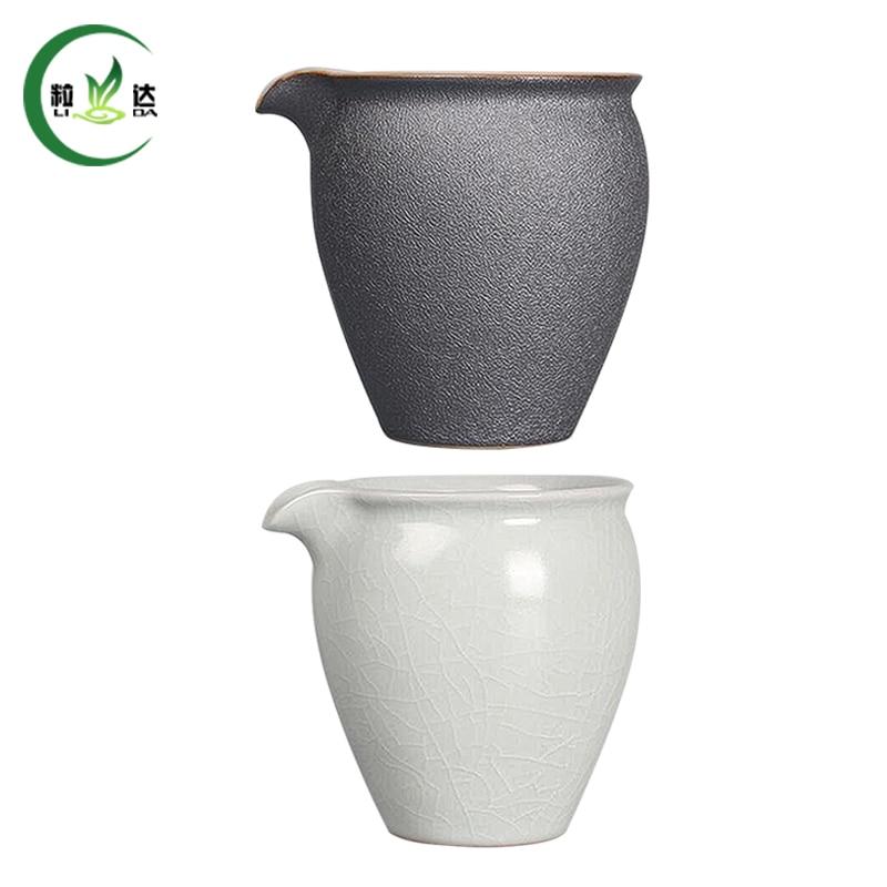 9x9cm Ru Yao Porcelain Gong Dao Bei Tea Cup Ceramic Oolong Tea Cup 200ml