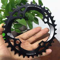 2019 FOURIERS Bicycle 96 BCD Single Speed Chain Wheel Sprocket Wheel 34T 36T 38T Chainring For MTB Mountain Bike Road Bicycle
