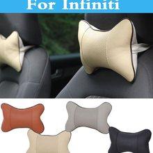 Дышать автомобиля подушка для автомобильного сидения подушка подголовника для Infiniti Q70 QX QX50 QX60 QX70 QX80 EX FX G JX м Q Q30 Q40 Q50 Q60