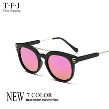 6458744ec Tfj 2016 new vintage uv400 óculos de sol para as mulheres homens marca  designer feminino masculino óculos de sol das mulheres do.