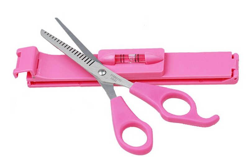 Профессиональные DIY Инструменты для стрижки волос женский артефакт стиль набор для стрижки волос Обрезка Парикмахерские ножницы слоев стиль зажим для ножниц GYH