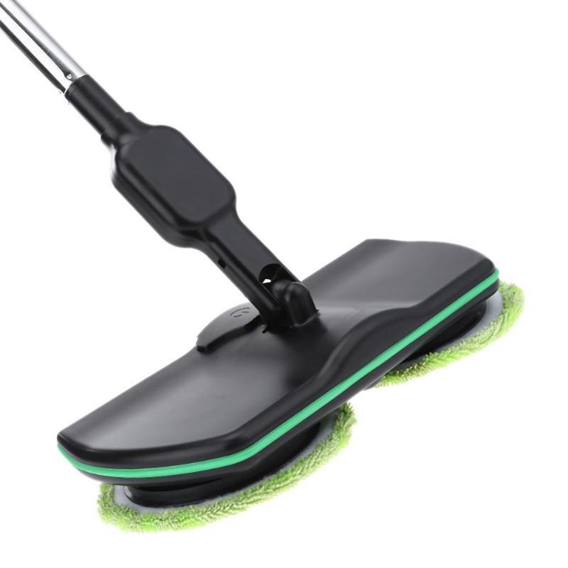 Бытовой Электрический Sweeper СС домашние тапочки очистки из микроволокна Перезаряжаемые очистки Pad кисти автоматический СС
