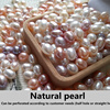 Custom Natural Pearl Earrings Necklace Bracelet Ring Drilling Balls S925 Sterling Silver Accessories Purely Handmade