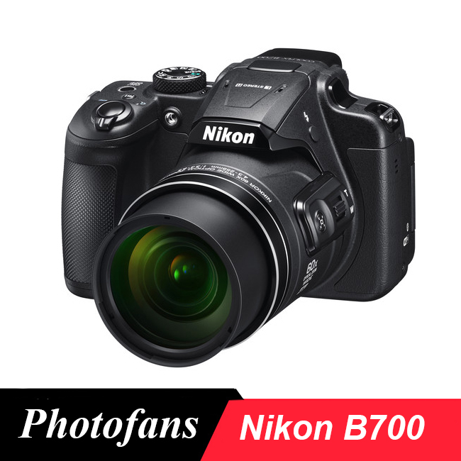 Nikon COOLPIX B700 Digital Camera -20.2MP -60x Optical Zoom -3.0 Vari-Angle LCD -4K Video -Wi-Fi (New) nikon p900 s camera coolpix p900s digital cameras 83x zoom full hd video wi fi brand new