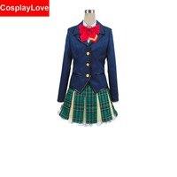 2016 Custom Made Battle Girl High School Senior High School Uniform Cosplay Costume Halloween Costume