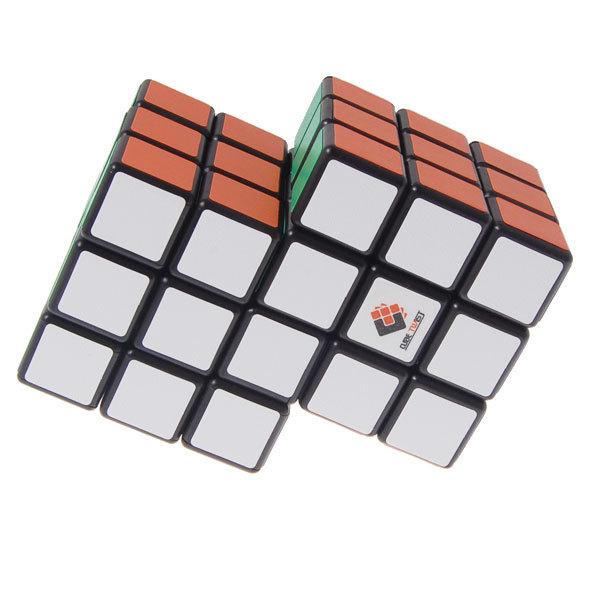 Marca Nuevo 2-en-1 Conjoined Puzzle Cubo Mágico 3x3x3 Negro (Nueva Versión) Juguetes Educativos Especiales juguetes