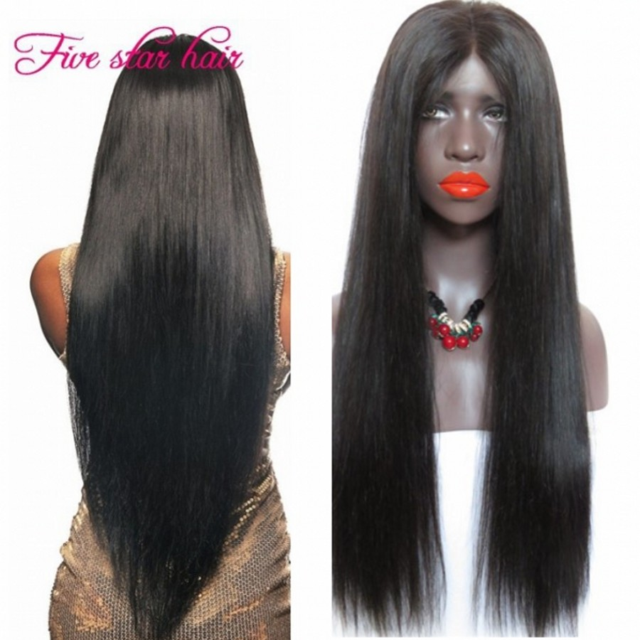 2016 Unprocessed Full Lace Human Hair Wigs With Baby Hair