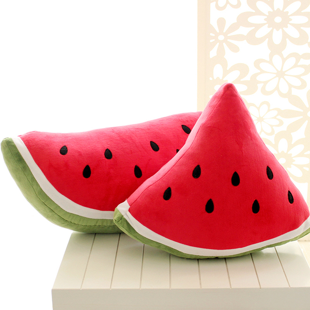 cute home protection ideas. Cartoon watermelon fruit pillow cushions plush toy home cute doll birthday  gift ideas