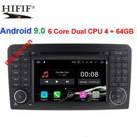IPS 2 Din Auto Radio Android 9.0 For Mercedes/Benz/ML/GL CLASS W164 ML350 ML500 GL320 Car Multimedia Video DVD Player GPS FM