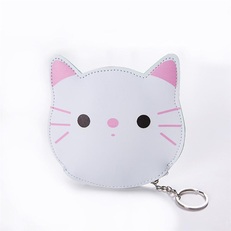 High Quality Cat Wallet Purse Women Girls Cute Fashion Snacks Coin womens purse Wallet Bag Change Pouch Key Holder purse small