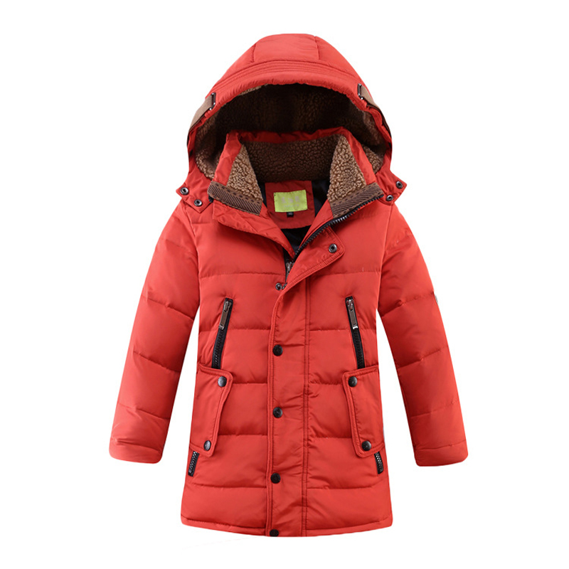 Winter Down Jacket For Girls Boy Coat Children's Down Jackets For Boy Girls Winter Jackets Kids Outerwears & Coats Down & Parkas fashion slim children winter down jackets baby boy girls long sleeve coats warm down kids outerwears for cold 30 degree jacket