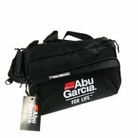 Hot 1PCS ABU GARCIA Waist Tackle Bag Pockets Fishing Tackle Bags Fishing Bag Fly Lure Waterproof