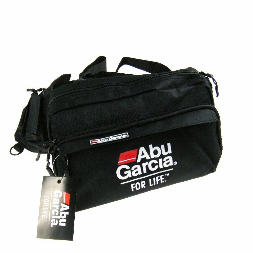 Hot!! 1 PCS ABU GARCIA Cintura Combater Bag bolsos Pesqueiro Bolsa Pesca Bag voar atrair bolsos tecidos Impermeáveis