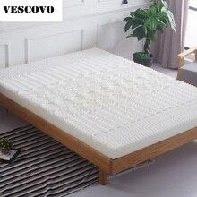 Kalınlığı yüksek yoğunluklu bellek köpük yavaş ribaund bellek köpük yumuşak yatak pedi