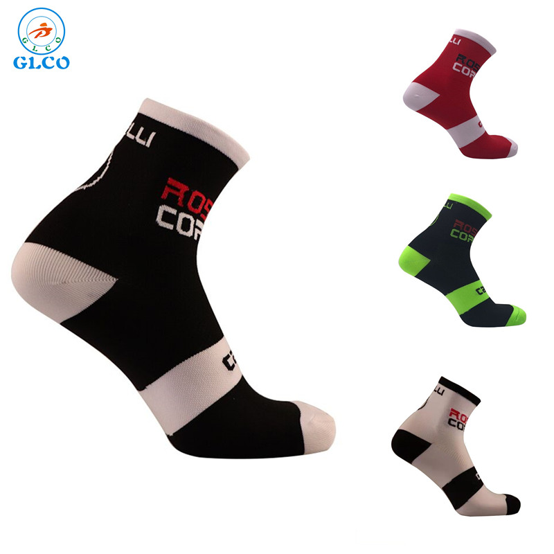 High quality Professional brand sport socks Breathable Road Bicycle Socks Outdoor Sports Racing Cycling Socks coolmax