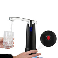 Electric Water Dispenser kitchen faucet drinking water Bottle pump Top Suction Unit Rechargeable drinkware supplies tools
