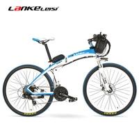 Lankeleisi GP Электрические велосипеды, велосипед, 26 дюйм(ов), 36/48 В, 240 Вт, дисковые тормоза, быстро складной, горный велосипед