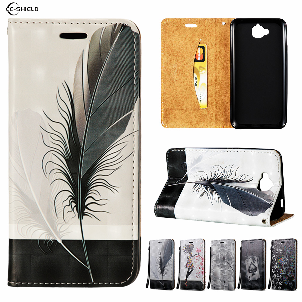 Filp Case for Huawei Honor 4C Pro TIT L01 U02 Wallet Leather Case Stand Card Hold Phone Cover for Huawei TIT-L01 TIT-U02 Capa