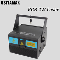 128 моделей проектор DJ лазерный свет для сцены rgb 2 W Эффект диско поворачивающаяся головка вечерние лампа