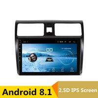 9 2.5D IPS Android 8,1 DVD мультимедиа плеер gps для Suzuki Swift 2006 2010 2012 2015 Аудио автомобилей Радио стерео навигации
