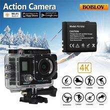 BOBLOV X3 2 «Двойной ЖК-Экран Wi-Fi Камера Action Sports 4 К 1080 P 16MP Камера + Аккумулятор