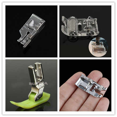 New 20styles Domestic Sewing Machine Accessories Presser Foot Feet Kit Set Hem Foot Spare Parts For Brother Singer Janome