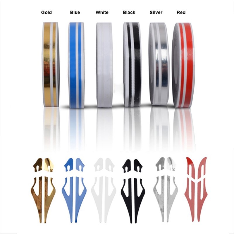 FASHION DIY car styling moulding 12*9800mm sticker fashion decoration strip PVC whole body decals stickers 6 colors car stickers sportive style design car whole body refit die cut vinyl stickers and decals fashion car styling labels for ford fiesta