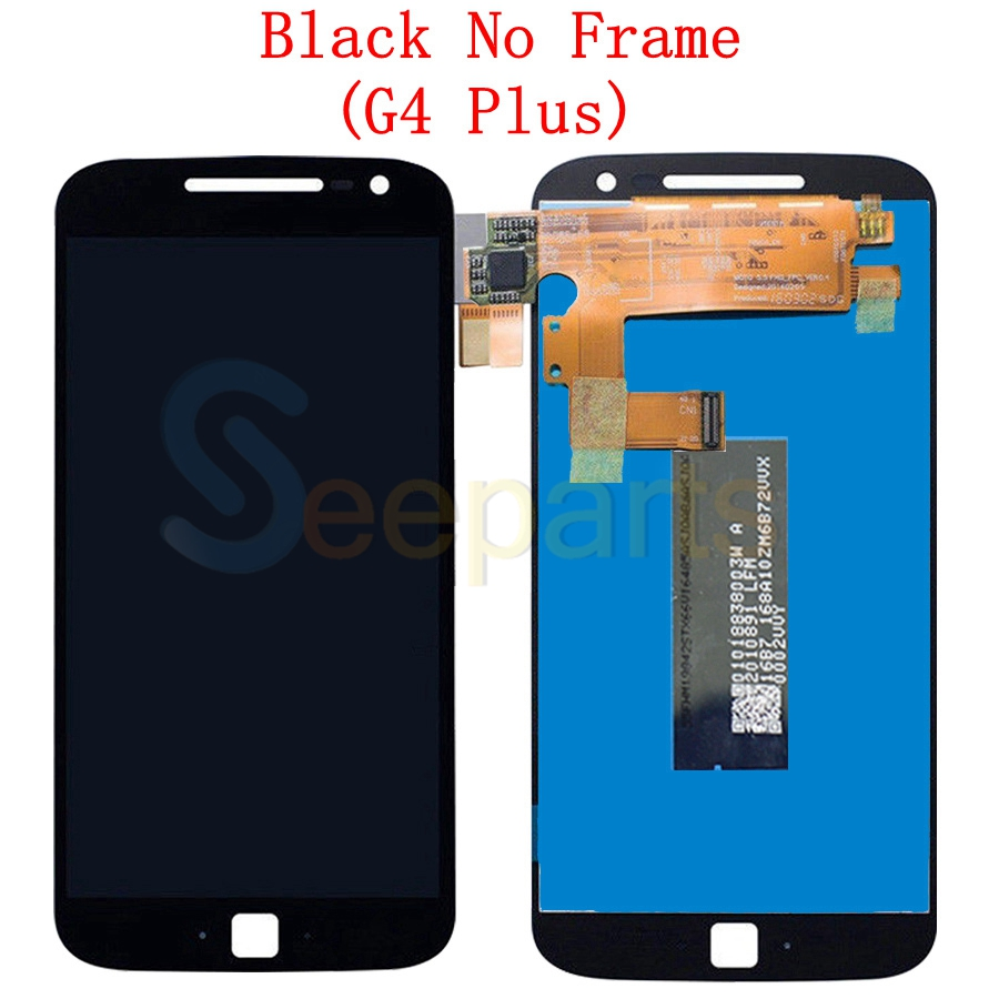 Image 4 - For Motorola Moto G4 LCD Display Touch Screen Digitizer Assembly XT1622 xt1625 For MOTO G4 Plus LCD Display Replacement PartsMobile Phone LCD Screens   -