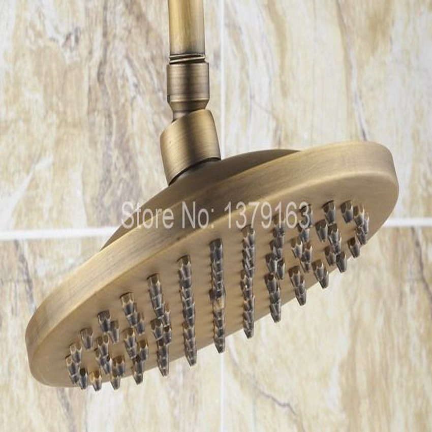 Luxury Bathroom Rain Shower Faucet Set Antique Brass Handheld Shower Head  Two Ceramics Lever Bathtub Mixer Tap Ars246 In Shower Faucets From Home ...