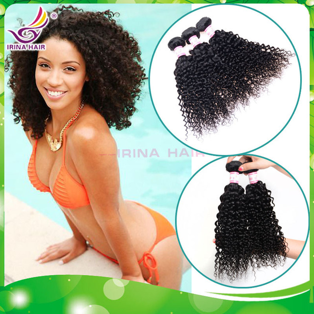 Fine Aliexpress Com Buy Short Curly Hair Weave 3Pcs Lot Kinky Curly Hairstyle Inspiration Daily Dogsangcom