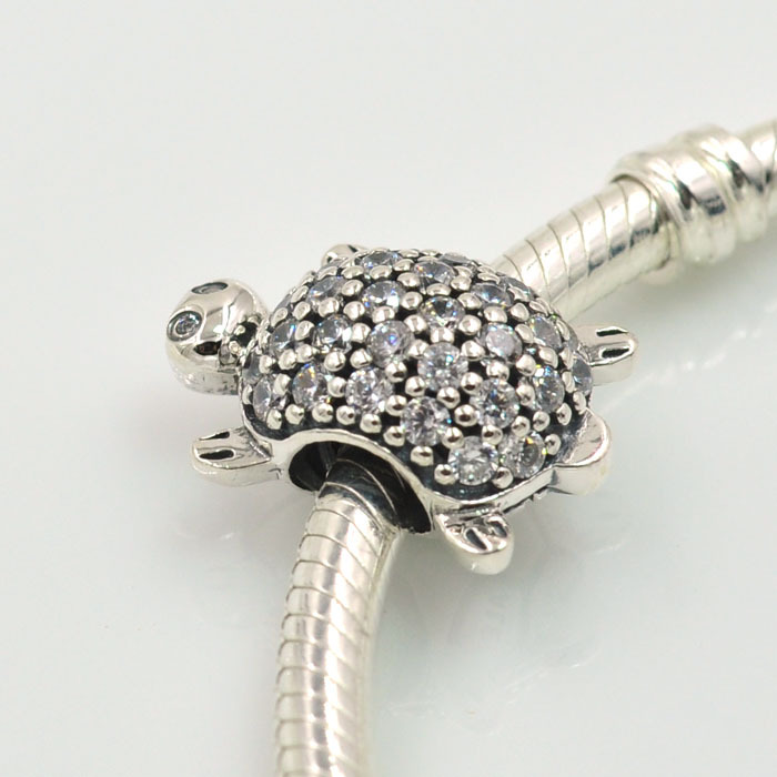 923727096 ... coupon code for original 925 sterling silver sea turtle charm sparking  cz bead fits pandora charms