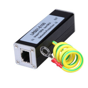 Lightning-Protection-Device Network-Surge-Protector Thunder Arrester RJ-45 SPD Security-Equipment