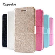 Oppselve Flip Phone Case For iPhone 8 7 6 6s Plus Capinhas Luxury PU Leather Wallet Cover For iPhone 8 7 Back Shell Coque Fundas цена